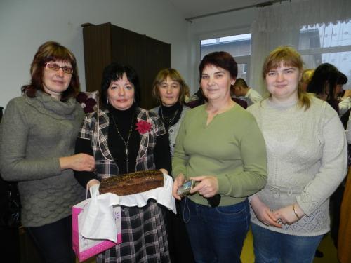 'Dalios' dovana Direktorei - duona