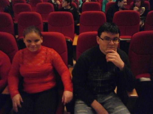 Žiūrovai-Jovita ir Laimonas