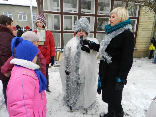 Žiema - Lina deklamuoja