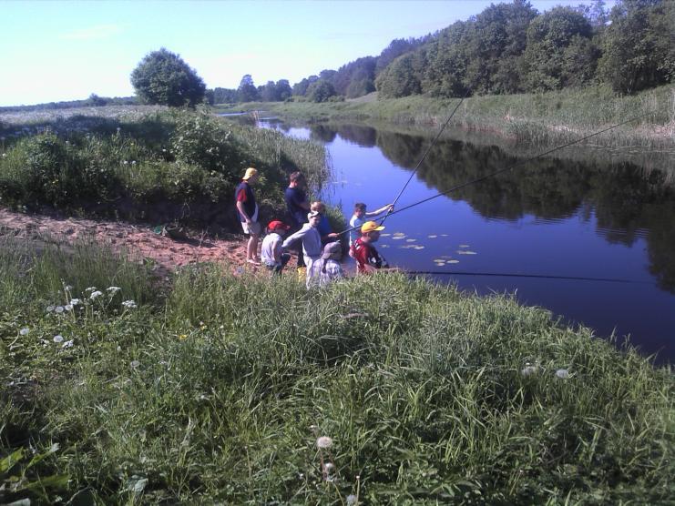 Žvejojame