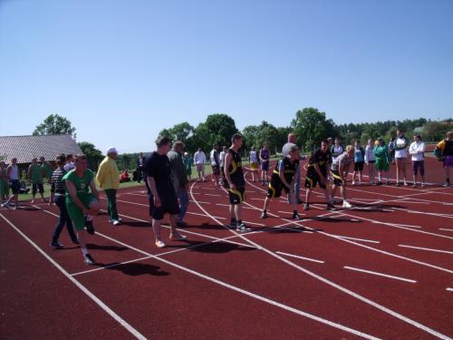 100 metrų bėgikai