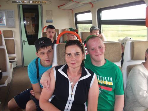 11 šeimynos išvyka traukiniu į Mažeikius3