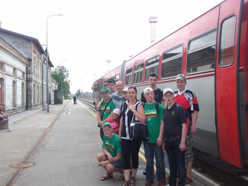 11 šeimynos išvyka traukiniu į Mažeikius5