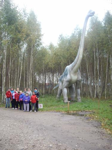 17 šeimyna Dinozaurų parke3