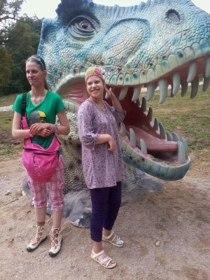 18 šeimyna Dinozaurų parke7