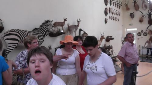 9 šeimyna medžioklės trofėjų muziejuje