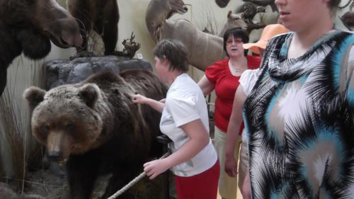 9 šeimyna medžioklės trofėjų muziejuje2