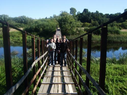 Ant beždžionių tilto Papilėje