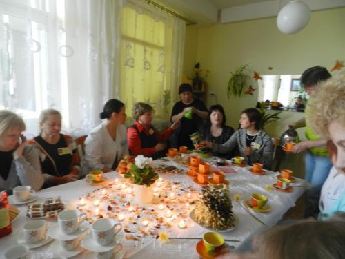 Arbatėlė svečiams po renginio