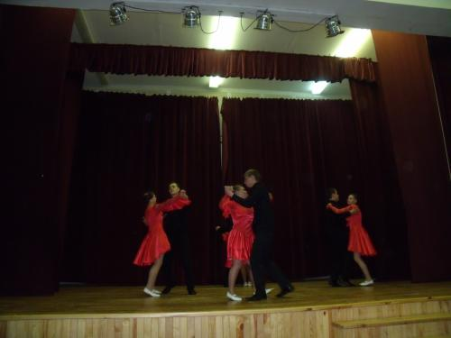 Gyventojų dovana-šokis