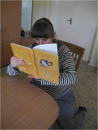 Irma skaito apie skudurinę Onutę