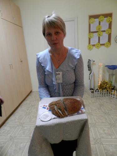 Jūratė svečius sutiko su duona ir druska