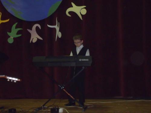 Jaunasis Papilės gimnazijos muzikantas