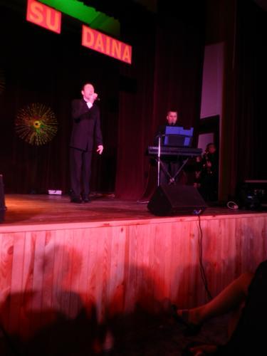 Jurdaičių socialinės globos namų dainininkas