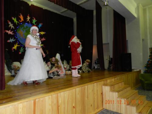Kalėdų senis ir Snieguolė