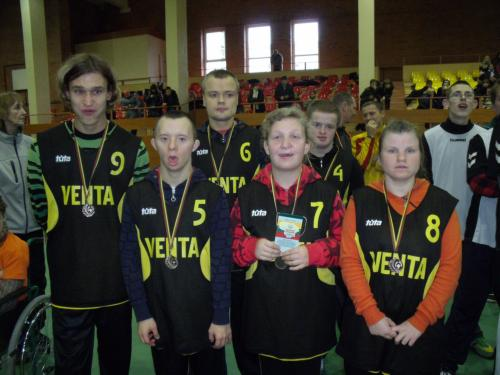Komanda su apdovanojimais