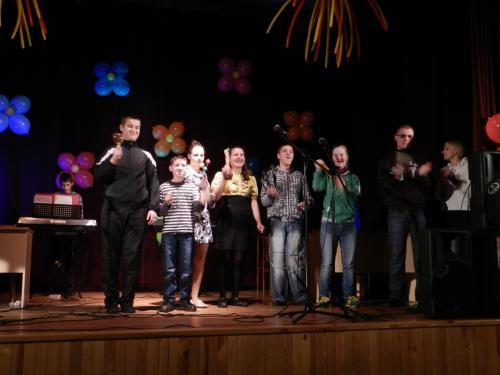 Mūsų globos namų gyventojų instrumentinis ansamblis