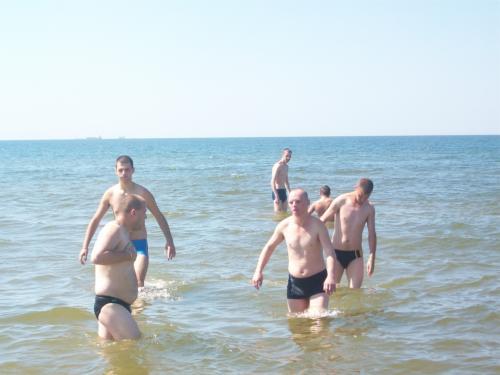 Maudynės Baltijos jūroje
