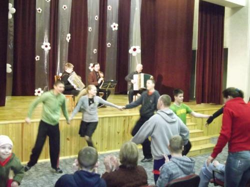 Muzikos ir šokio ritme