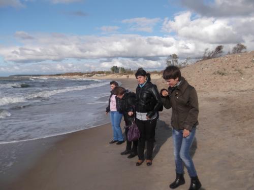 Prie ošiančios jūros