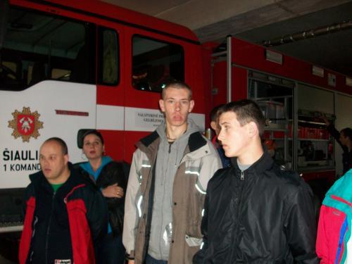 Priešgaisrinės apsaugos muziejuje