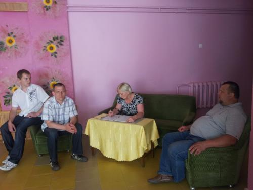 Renatas su savo šeima