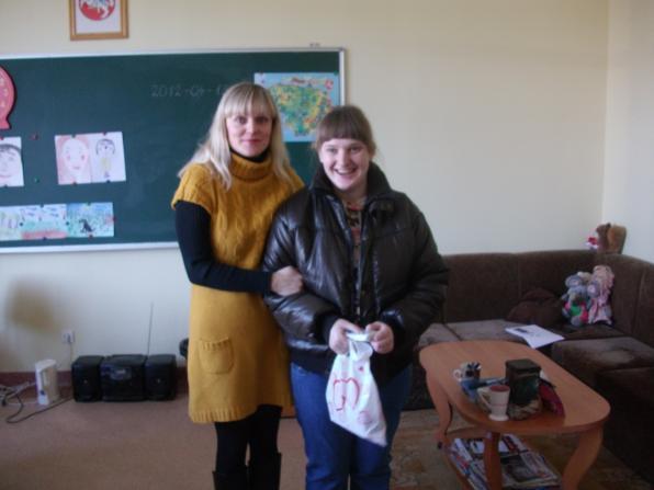 Su mokytoja Rita