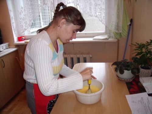 Tešlos pyragui ruošimas