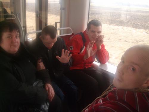 Važiuojame traukiniu