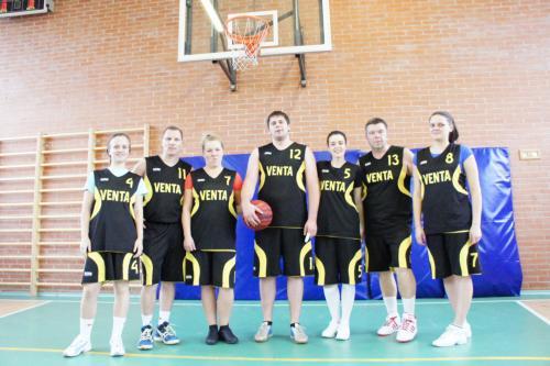 Ventos SGN vyrų ir moterų komandos