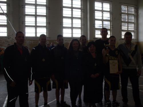 Ventos komanda su LSOK sporto programų direktore Dovile ir mūsų direktore