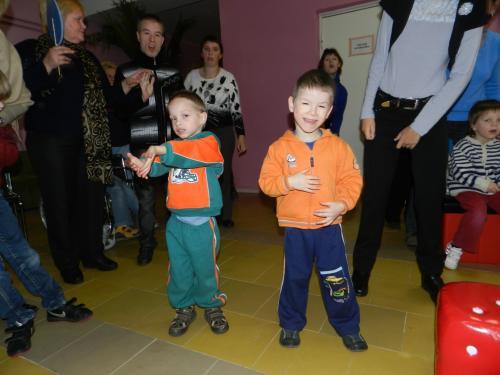 Vladimiras ir Kajus deklamuoja