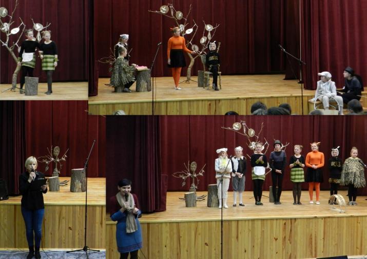 Akmenės gimnazijos spektaklis