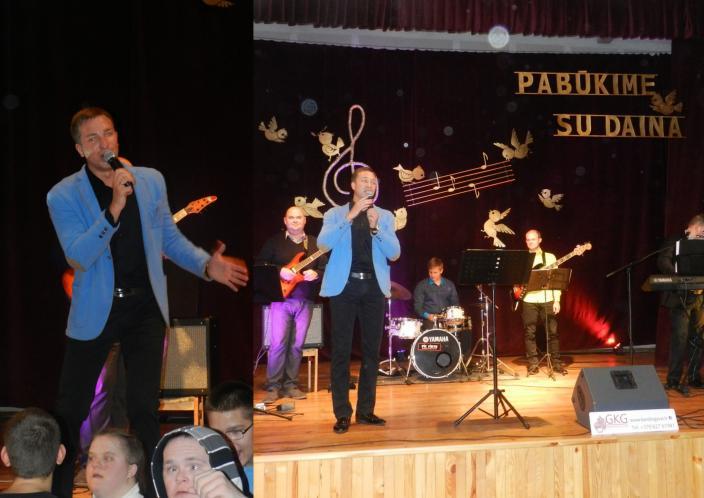 Grupės 'Karolis gyvai' koncertas