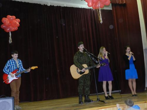 Papilės gimnazijos muzikos būrelio atlikėjai