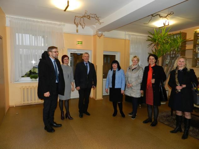 SADM ministro L. Kukuraičio vizitas