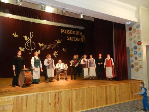 Tryškių kultūros centro artistai
